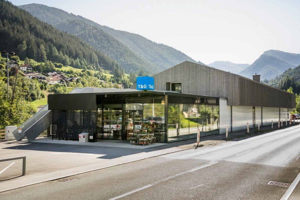 Umbau Supermarkt - T&G Steinach am Brenner