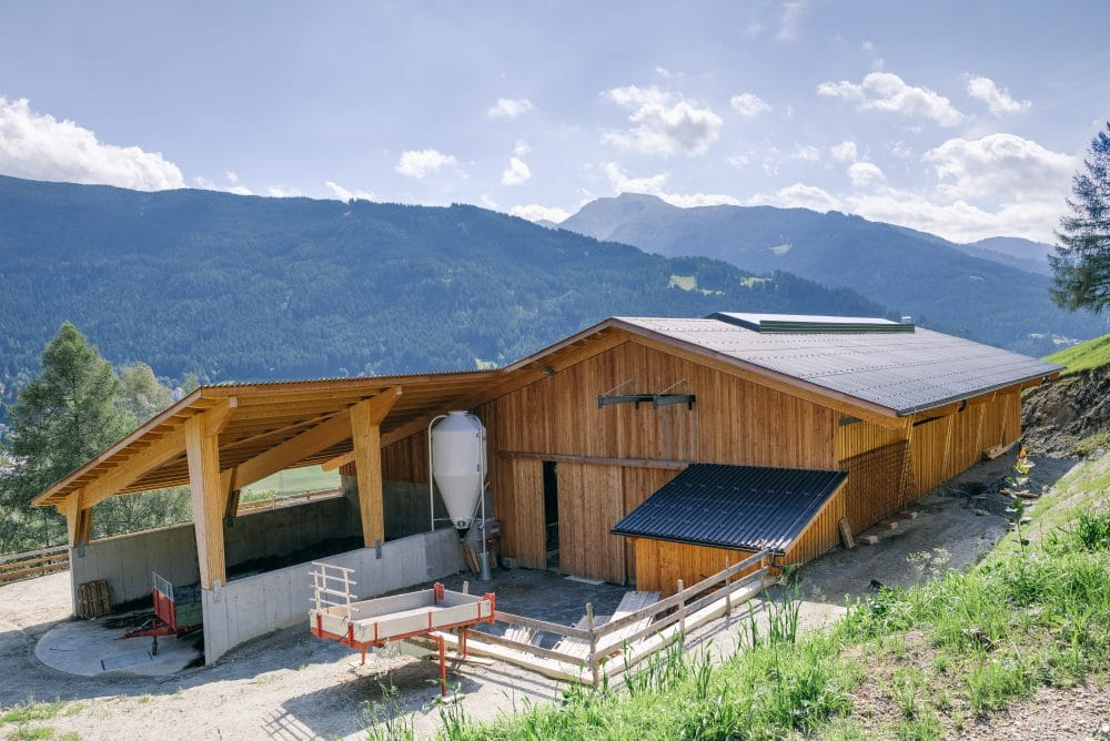 Stallgebäude Isser - Schafferer Holzbau