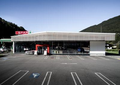 Neubau Supermarkt
