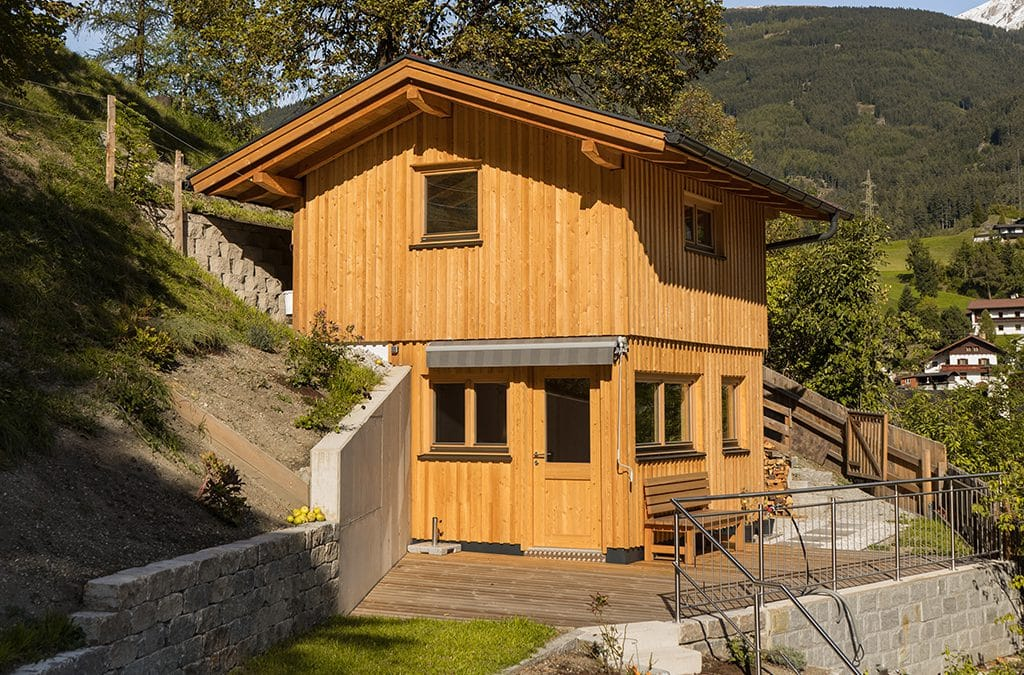 Neubau Gartenhaus