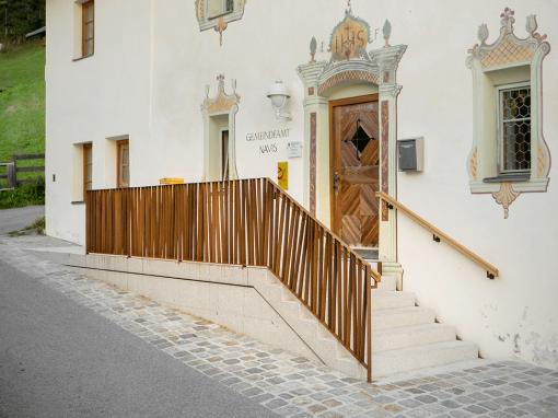 Neubau Treppenaufgang