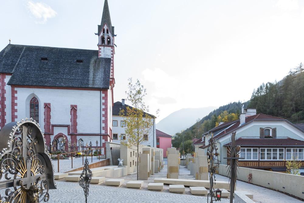 Friedhof Pfons Matrei Hautz Bauunternehmen