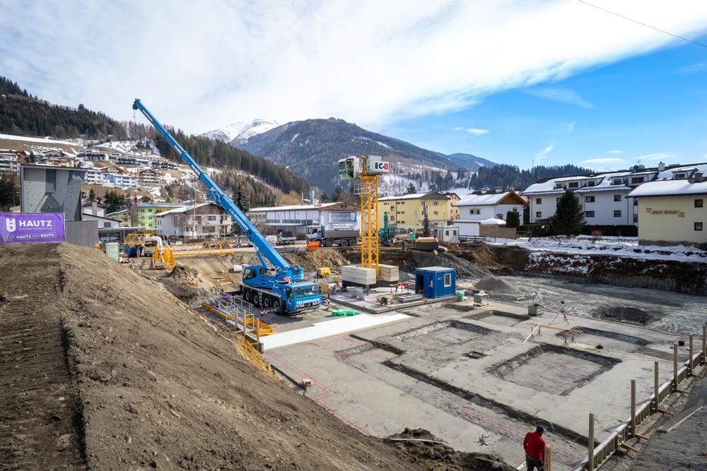 Wohnanlage in Statz, Mühlbachl - in Bau - Hautz Bauunternehmen Wipptal