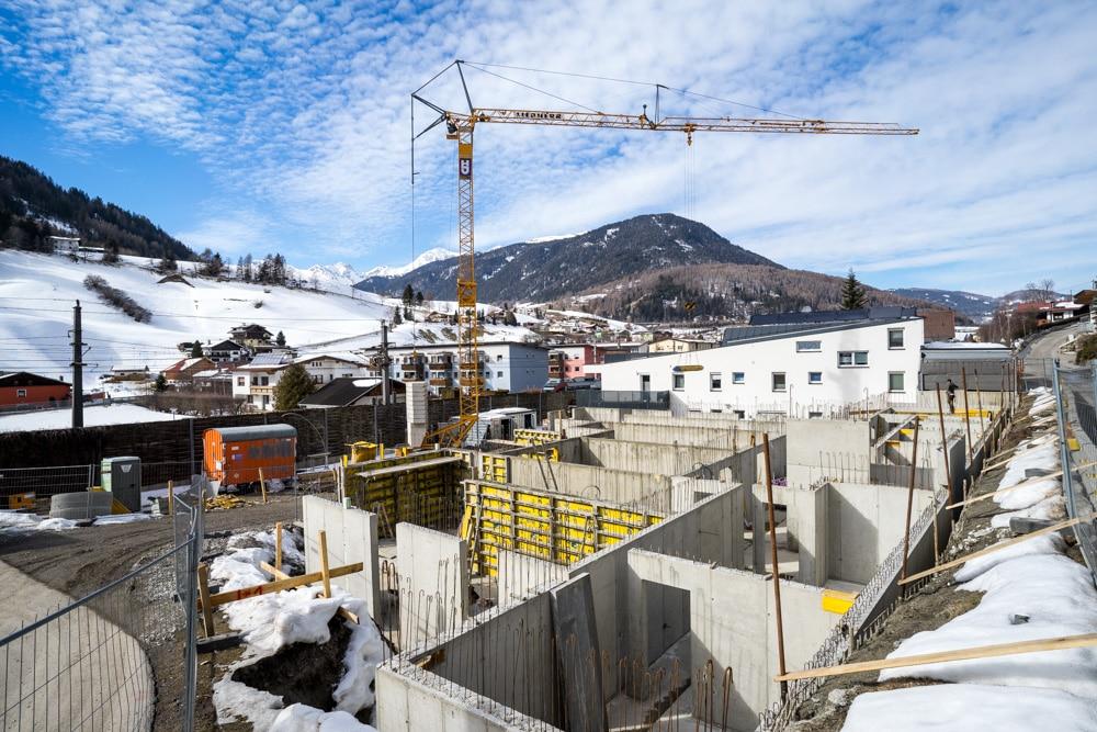 Wohnanlage WiWo Steinach am Brenner - in Bau - Hautz Bauunternehmen Wipptal